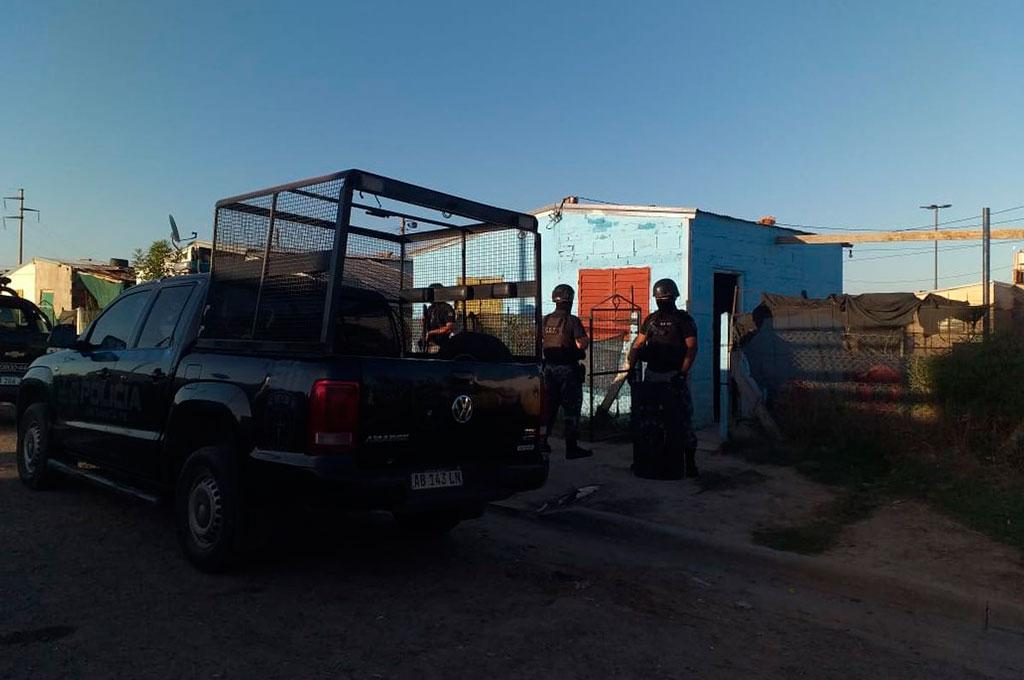 Se realizaron allanamientos en Esperanza y en Santa Fe (foto) en busca de los objetos robados. Crédito: Gentileza Prensa URXI