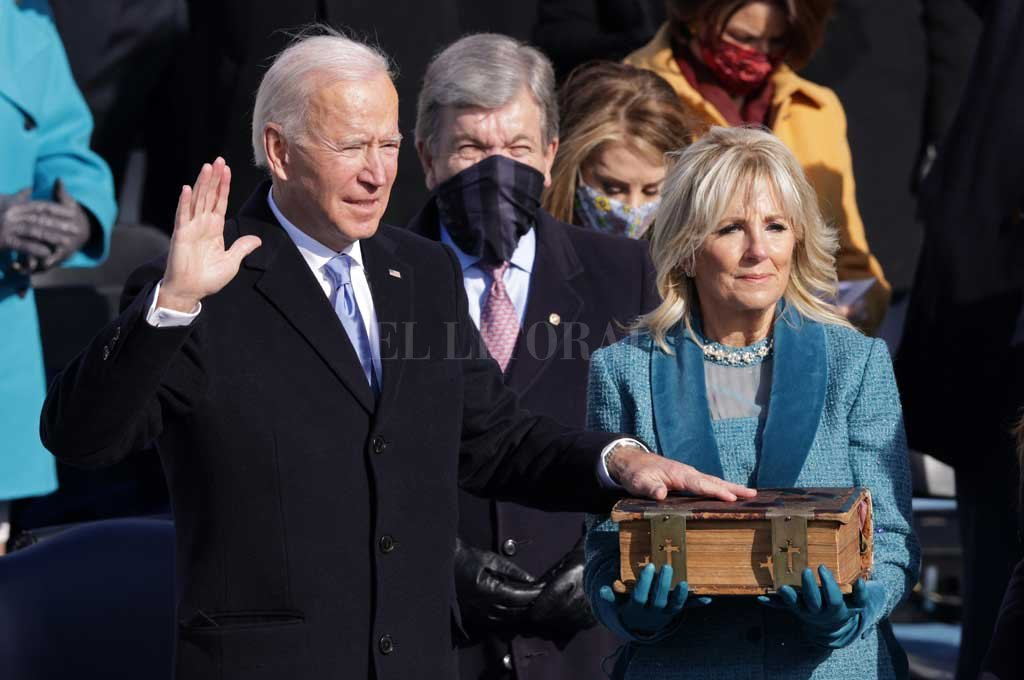 Joe Biden asumió la presidencia de Estados Unidos -  -