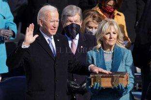 Joe Biden asumió la presidencia de Estados Unidos