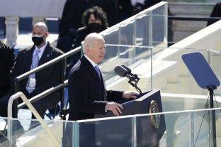 """""""La democracia ha prevalecido"""", aseguró Joe Biden en su discurso inaugural"""