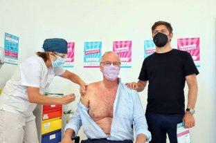 Gollan fue el primer argentino mayor de 60 años en recibir la vacuna rusa contra el coronavirus - Buenos Aires comenzó la vacunación para mayores de 60 años y la aplicación de la segunda dosis. En ese marco el ministro de Salud, Daniel Gollan recibió la primera. -