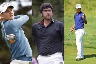 Tres argentinos participan en el torneo de golf en La Quinta