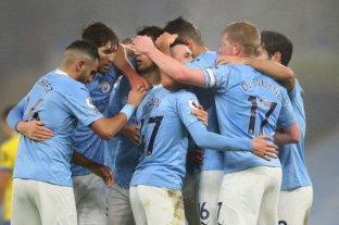 Manchester City se sube a la punta de la Premier tras vencer a Aston Villa