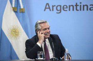"""""""El vínculo entre nuestros países se fortalecerá"""", manifestó Alberto Fernández en un saludo a Biden"""
