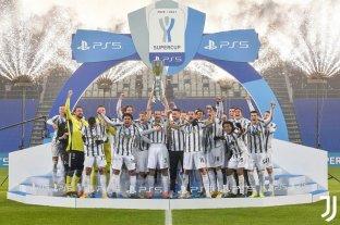 Con Cristiano Ronaldo como figura, Juventus venció a Napoli y consiguió la Supercopa de Italia