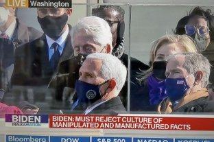 Bill Clinton se durmió durante el discurso de investidura de Joe Biden