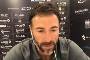 """'Kily' González, autocrítico tras la derrota por Copa Argentina: """"Soy el único responsable"""""""