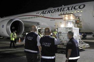 México recibió de Argentina 5.230 litros de sustancia activa de vacuna AstraZeneca