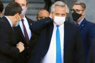 """Fernández se aplicará la vacuna Sputnik V """"en los próximos días""""   - Todavía """"no está definido el día"""" en el que se inoculará al jefe de Estado.    -"""