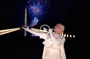 Video: así fue el espectacular cierre de Katy Perry de los actos de asunción de Biden