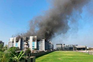 Se incendió una planta de fabricación de vacunas para el Covid en la India