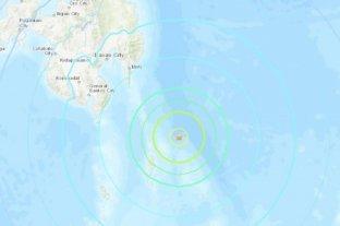 Un sismo de casi 7º sacudió las costas de Filipinas