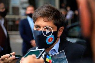 """Video: """"Jovenas"""", la insólita expresión de Kicillof para hablar de la juventud"""