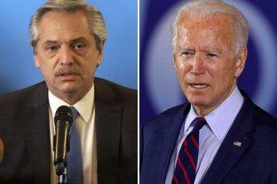 Alberto Fernández le envió una carta al nuevo presidente de Estados Unidos, Joe Biden -  -