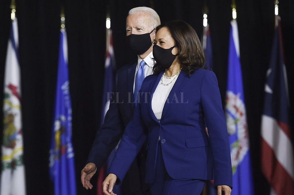 Joe Biden y la vicepresidenta Kamala Harris. Crédito: Captura digital