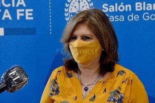 La ministra de Educación confirmó que las clases en Santa Fe empiezan el 15 de marzo - Adriana Cantero, ministra de Educación de la provincia.