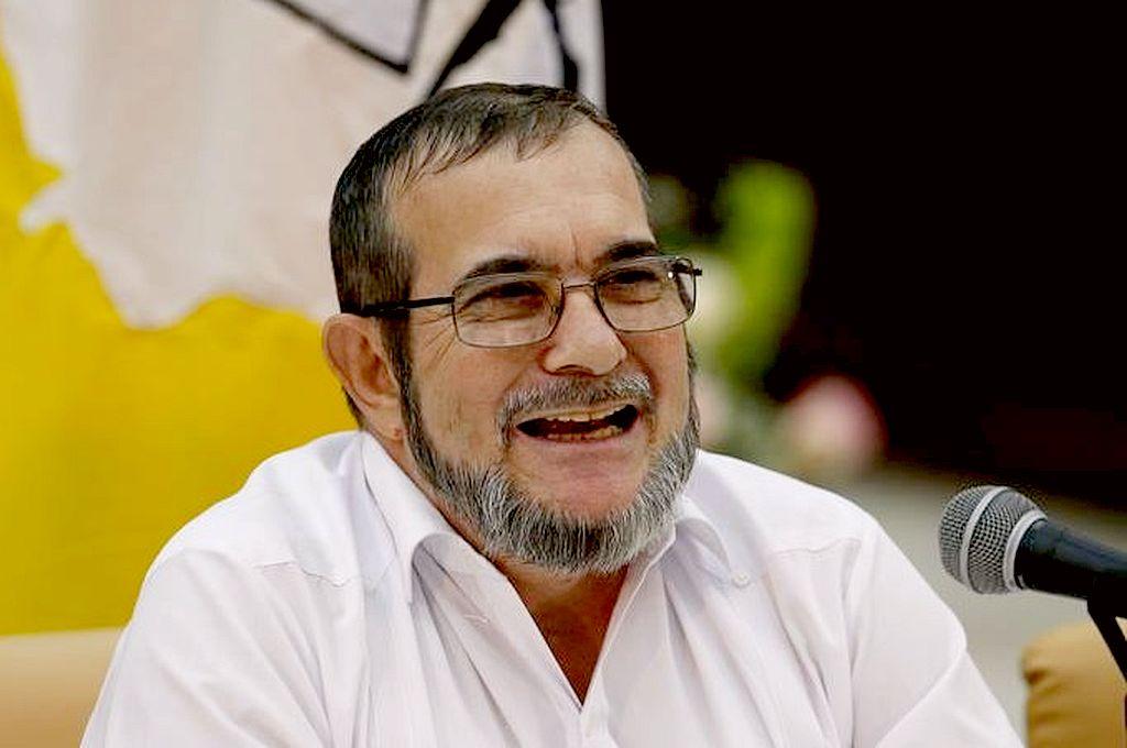 Rodrigo Londoño, alias Timochenko, titular del partido. Crédito: Captura digital