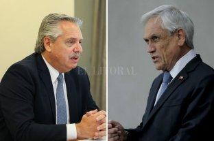Alberto Fernández viajará a Chile el próximo martes y se reunirá con el presidente Piñera