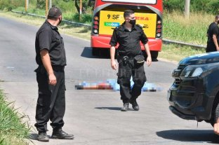 Siniestro fatal en la colectora frente a El Pozo -