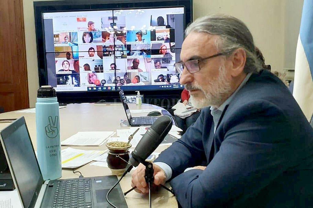 El ministro de Agricultura, Ganadería y Pesca, Luis Basterra. Crédito: NA