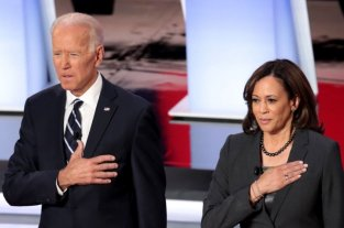 Joe Biden y Kamala Harris conmemoran el 48º aniversario del aborto legal en EEUU