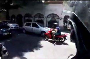 """""""De película"""": el motochorro que fue perseguido por 40 cuadras le puso nombre a su moto -"""