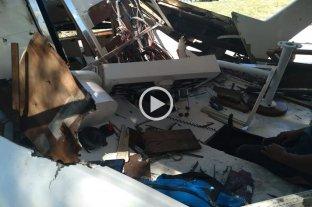 Explotó una embarcación y su dueño sufrió lesiones