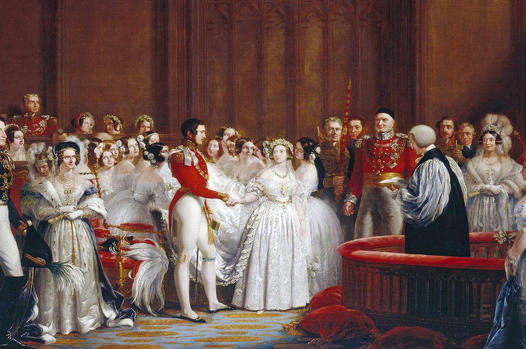 ´El matrimonio de la reina Victoria´, de George Hayter. Crédito: Royal Collection