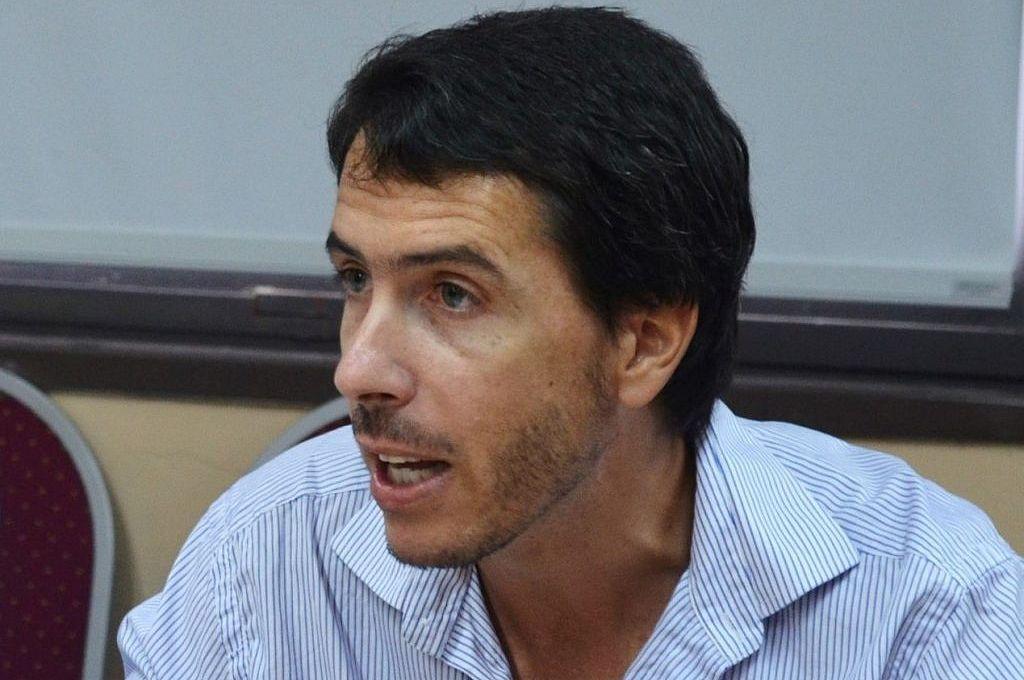 El diputado Martín Berhongaray presentó el proyecto. Crédito: Captura digital