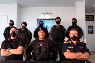 Los policías que saludaron a Patricia Bullrich en Villa Gesell salieron a defenderse tras la polémica  -