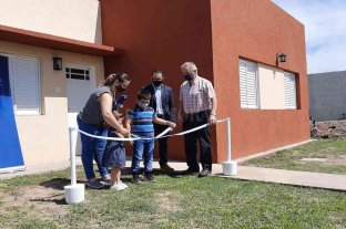 Entregaron viviendas del Plan Lote Propio en Pilar