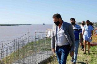 San Lorenzo: está en marcha la reconstrucción del Paseo de la Libertad