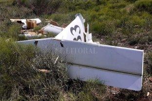Cayó una avioneta y murió el piloto, un exguitarrista de Dios Salve a la Reina