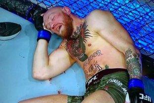 Video: tremendo nocaut a McGregor en su vuelta a la UFC