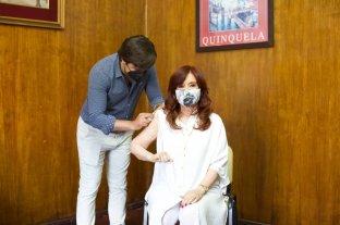 Cristina Kirchner se aplicó la vacuna rusa contra el coronavirus