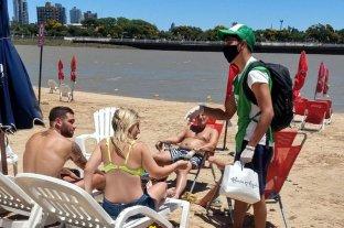 En Costanera Este, vecinos de Alto Verde concientizan por el cuidado del ambiente