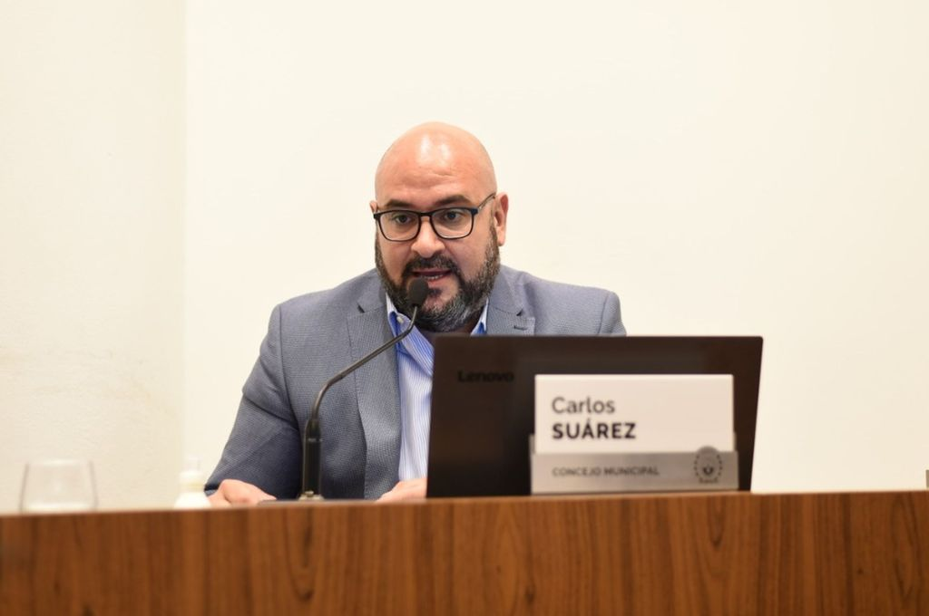Carlos Suárez, concejal de la ciudad de Santa Fe. Crédito: Gentileza