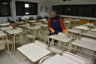 Aseguran que casi todas las escuelas están en condiciones de volver a clases el 17 de febrero
