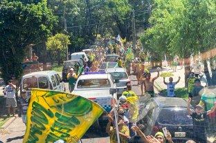 Defensa y Justicia campeón: una multitud acompañó a plantel en Florencio Varela