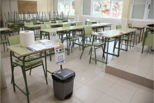 Córdoba avanza en la adecuación de las aulas para el regreso presencial a clases