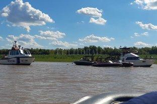 Tras el escándalo del yate semi hundido, intensifican controles en las islas de la zona - Patrullajes. En todo el río Paraná se llevan adelante durante la temporada. Tanto en Santa Fe como en Paraná y en Rosario. -