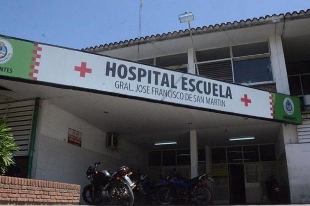 Hospital Escuela ´´San Martín´´ Crédito: Gentileza