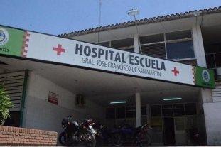 Atención reducida en un hospital de Corrientes por brote de coronavirus