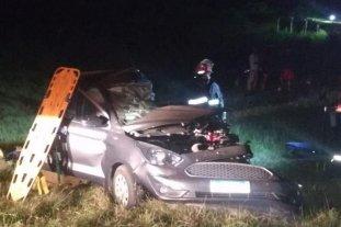 Un fallecido y tres heridos tras accidente vial en Corrientes