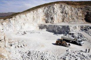 La producción minera cayó 70 %