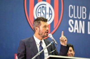 """Tinelli prometió construir el nuevo estadio de San Lorenzo """"en menos de tres años"""""""