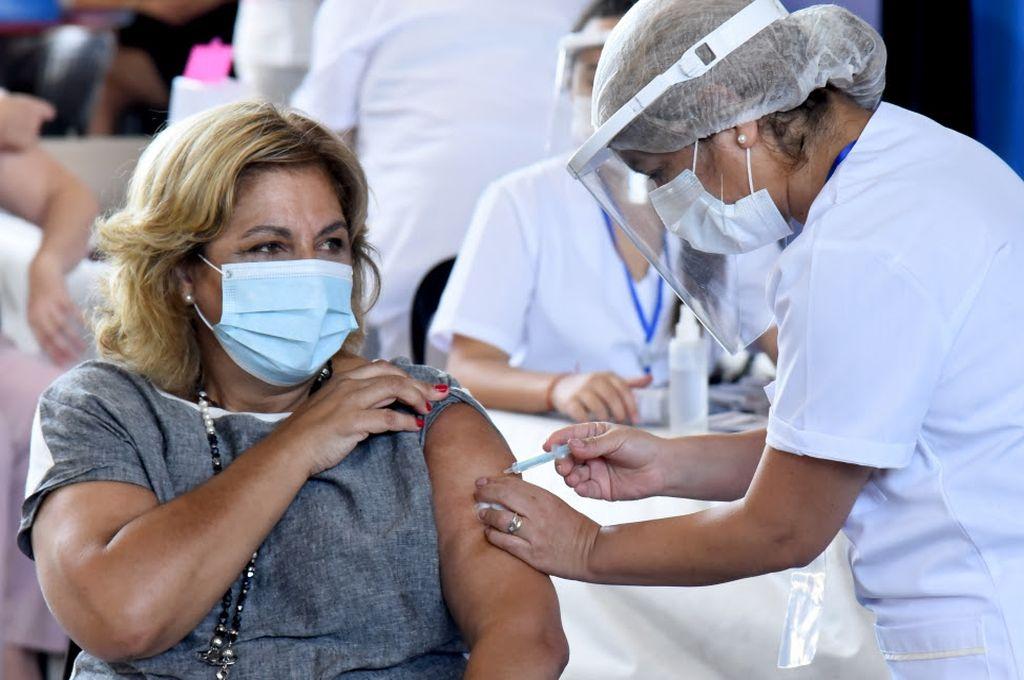 El 8% del total de vacunas, para Santa Fe -  -