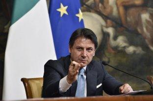 El premier italiano Giuseppe Conte renunciará para poder formar un nuevo Gobierno