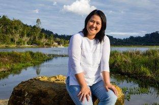 """""""Mano dura"""" es la propuesta de Keiko Fujimori para la campaña presidencial en Perú"""
