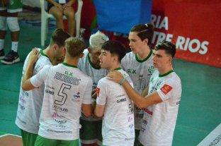 Once Unidos alcanzó su primer triunfo en la Liga de Vóleibol Argentina
